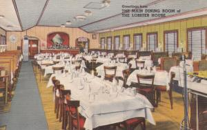 CHARLESTOWN, Massachusetts, PU-1935; The Lobster House