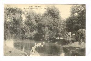 Parc Montsouris, Le Lac, Paris, France, 1900-1910s