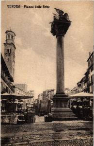 CPA VERONA Piazza delle Erbe, . ITALY (448723)