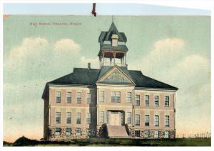 Oregon  Heppner ,   High School