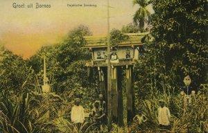 indonesia, BORNEO, Dayak Sandong (1900s) Postcard