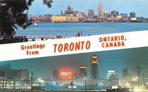 Skyline at Night Toronto Unused