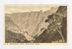 Drakensberg Range: Main Tugela Gotrge, 30-50s