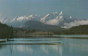 PINDER PEAK , British Columbia, 50-60s ; Nimpkish lake