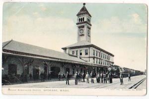 Great Northern RR Depot, Spokane WA