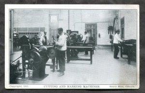 dc1129 - OTTAWA 1920s Royal Canadian Mint Machines Postcard