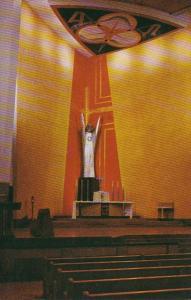 Missouri Kansas City Interior View St Francis Xavier Church