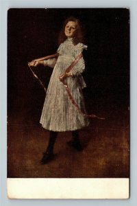 Painting, Alice, By William Merritt Chase, Art Institute, Vintage Postcard