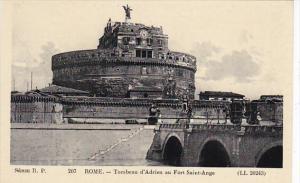 Italy Roma Rome Tombeau d'Adrien au Fort Saint-Ange