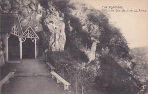 France Lourdes L'Entree des Grottes du Loup