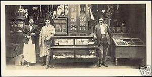 egypt, CAIRO, Shop Mousky Bazars (1930s) RPPC