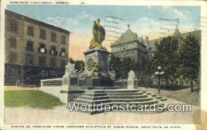 Monument Taschereau Quebec Canada Postal Used Unknown