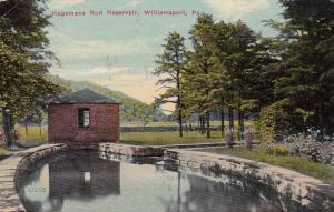 WILLIAMSPORT , Pennsylvania , PU-1914 ; Hagemans Run Reservoir