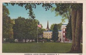 New York Cazenovia Williams Eddy & Centennial Hall Cazenovia Junior College