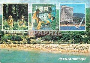 Postcard Modern Zlatni Pjassatzi