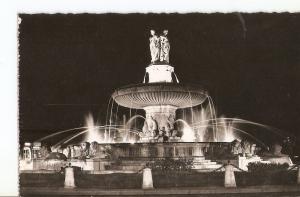 Postal 024855 : La Cite du Roy Rene Aix en Provence - Grande Fontaine