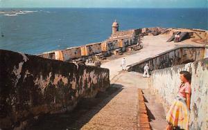 San Juan Harbour Ecuador, Republica del Ecuador Fortress El Morro San Juan Ha...