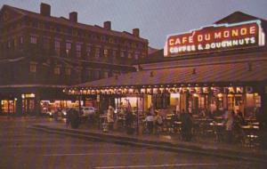 Louisiana New Orleans Cafe Do Monde Original French Market Coffee Shop