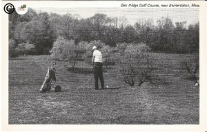 Oak Ridge Golf Course, near Bernardston Massachusetts Black & White Photograph