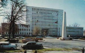 Exterior,Augusta-Richmond County Municipal Building,Augusta,Georgia, 40-60s