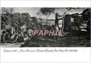 Postcard Modern Cortona 650 m Diocesan Museum Flagellation (Luca Signorelli 1...