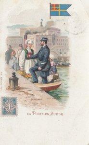 La Poste en SUEDE , 1902