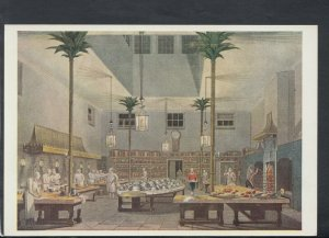 Sussex Postcard - The Royal Pavilion, Brighton, The Great Kitchen   RR7067