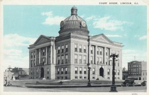 LINCOLN , Illinois, 1910s ; Court House