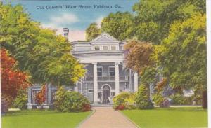 Georgia Valdosta Old Colonial West Home