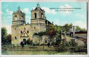 Mission De La Conception Purisima, San Antonio TX