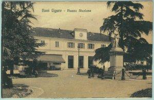 97133 - CARTOLINA d'Epoca - ALESSANDRIA provincia  NOVI LIGURE 1914  Stazione