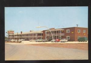 EMMITSBURG MARYLAND OLD CARS CORVAIR MT MANOR RESTAURANT OLD POSTCARD