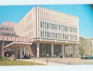 Pre-1980 DUKE UNIVERSITY HOSPITAL MOVED DOWN Durham North Carolina NC d5678