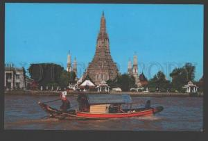109128 THAILAND BANGKOK Wat Arun Temple of Dawn Old postcard