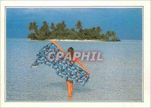 Postcard Modern Maldives Ranalhi