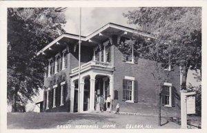 Illinois Galena Grant Memorial Home Real Photo