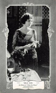 LP96 Lila Lee  Silent Film Movie Actor Star Postcard After the Show