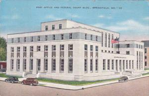 Post Office and Federal Court Building, SPRINGFIELD, Missouri, PU-1939