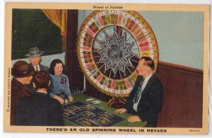 Old Spinning Wheel in NV