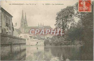 Postcard Old Normandy The C P Sees A La Cathedrale