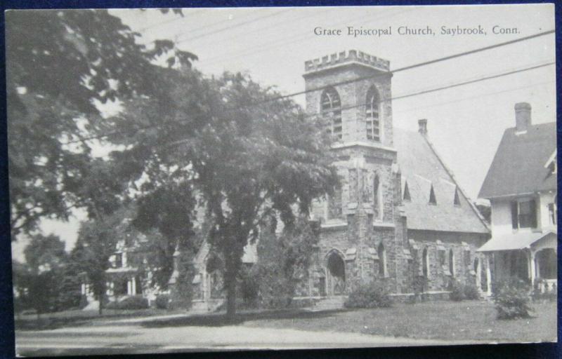 Grace Episcopal Church Saybrook CT Bond Mfg Co Pub