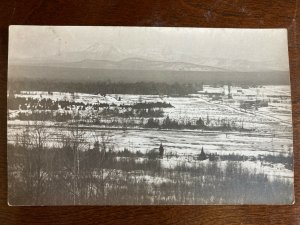 RPPC View From Horse Mountain, Willow Creek, California C17