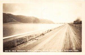 G36/ Soda Springs Idaho RPPC Postcard Bear River Old Trail