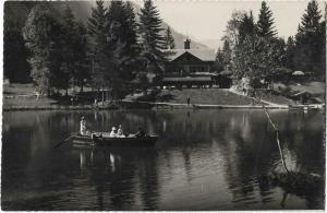 Switzerland Blausee im kandertal 01.24