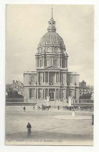 France Paris Le Dome des Invalides c 1910 Vtg Lucien Levy Postcard