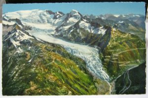 Switzerland Rhonegletscher Glacier du Rhone etc - unposted