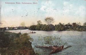 Kalamazoo River Kalamazoo Michigan 1908