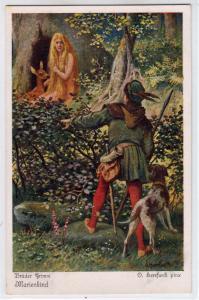 Bruder Grimm Marienkind by O. Herrfurth