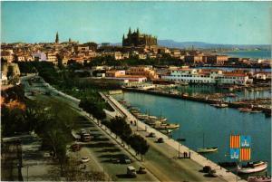CPA Espagne-Mallorca-Palma de Mallorca-Paseo Maritimo (323552)