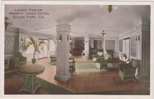 Ladies Parlor, Merritt Jones Hotel , Ocean Park , California, 00-10s
